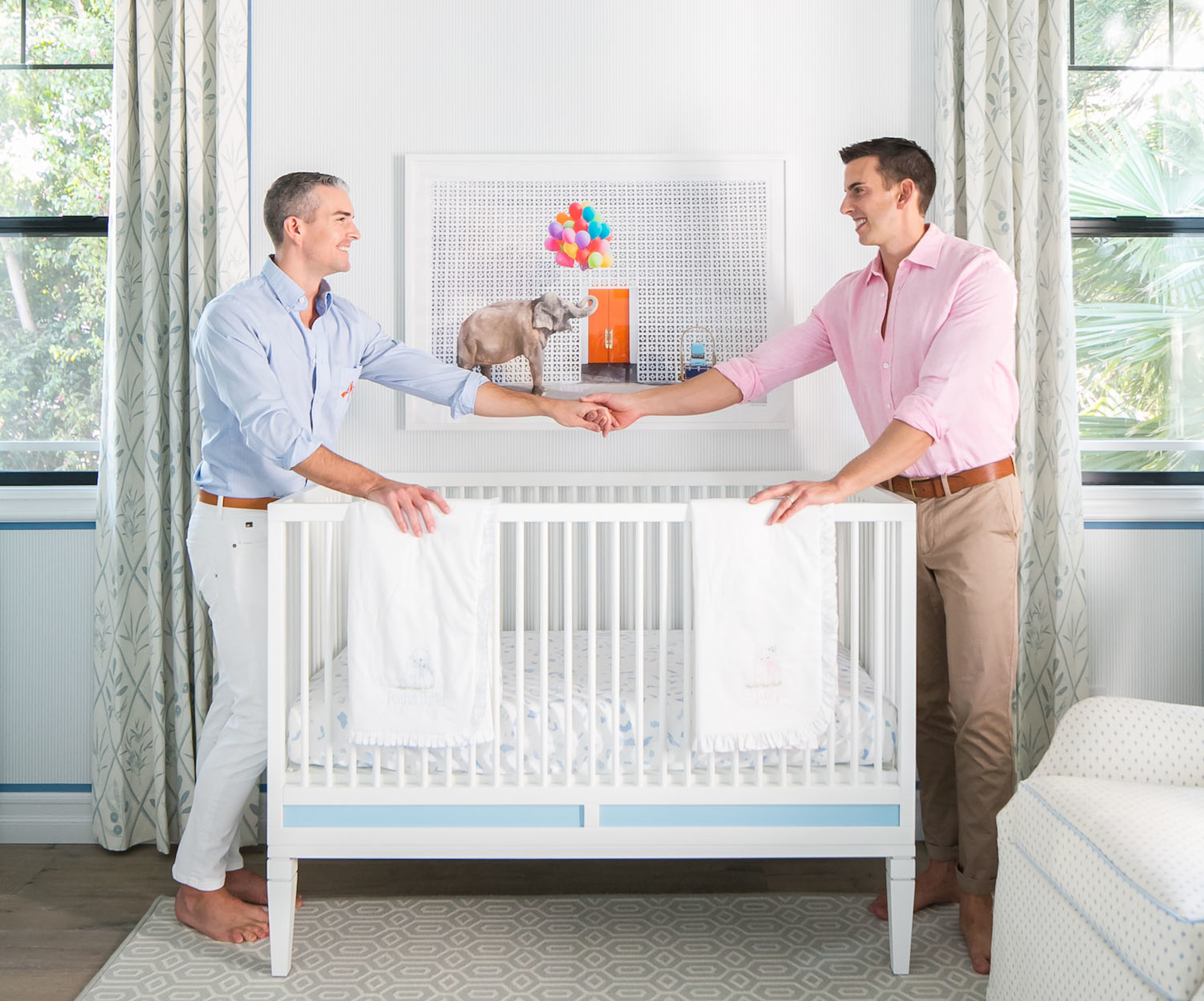 Gray Malin S Twins Nursery Playroom Gray Malin