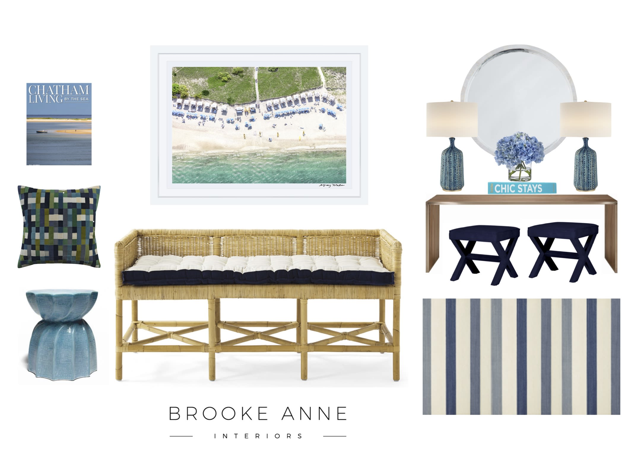 Start With Art Adding New England Charm To Your Home With Brooke Ann Interiors Gray Malin