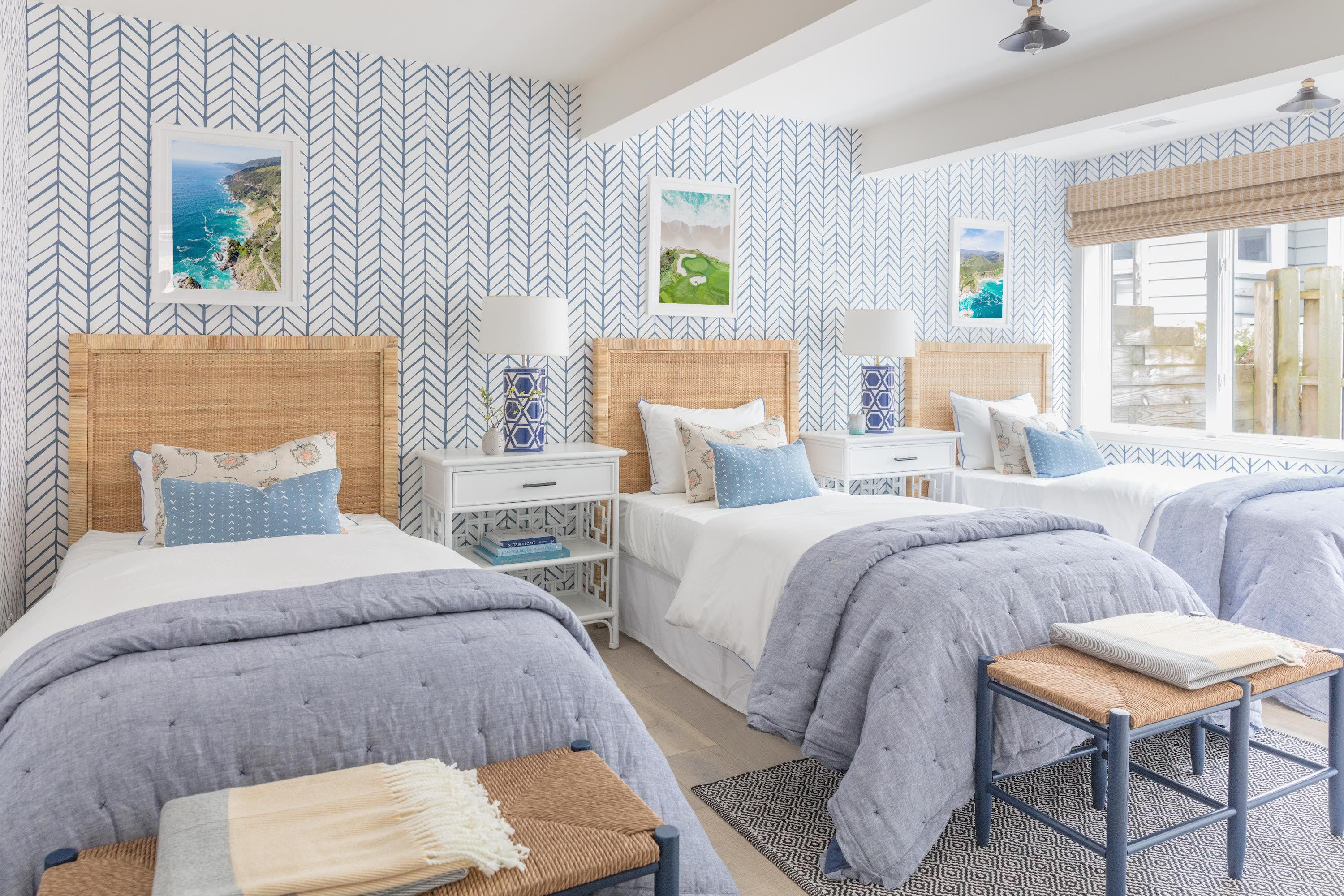 Gray S Lake Home Renovation The Guest Bedrooms Malin