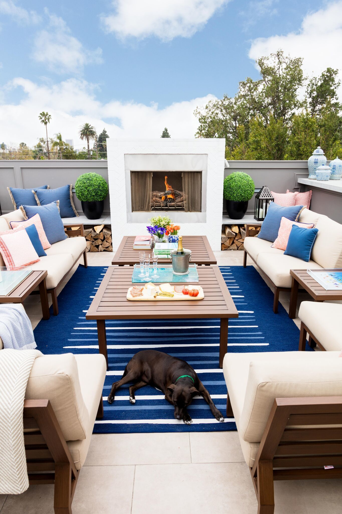 Outdoor Decor How To Create The Ultimate Outdoor Living Room Gray Malin