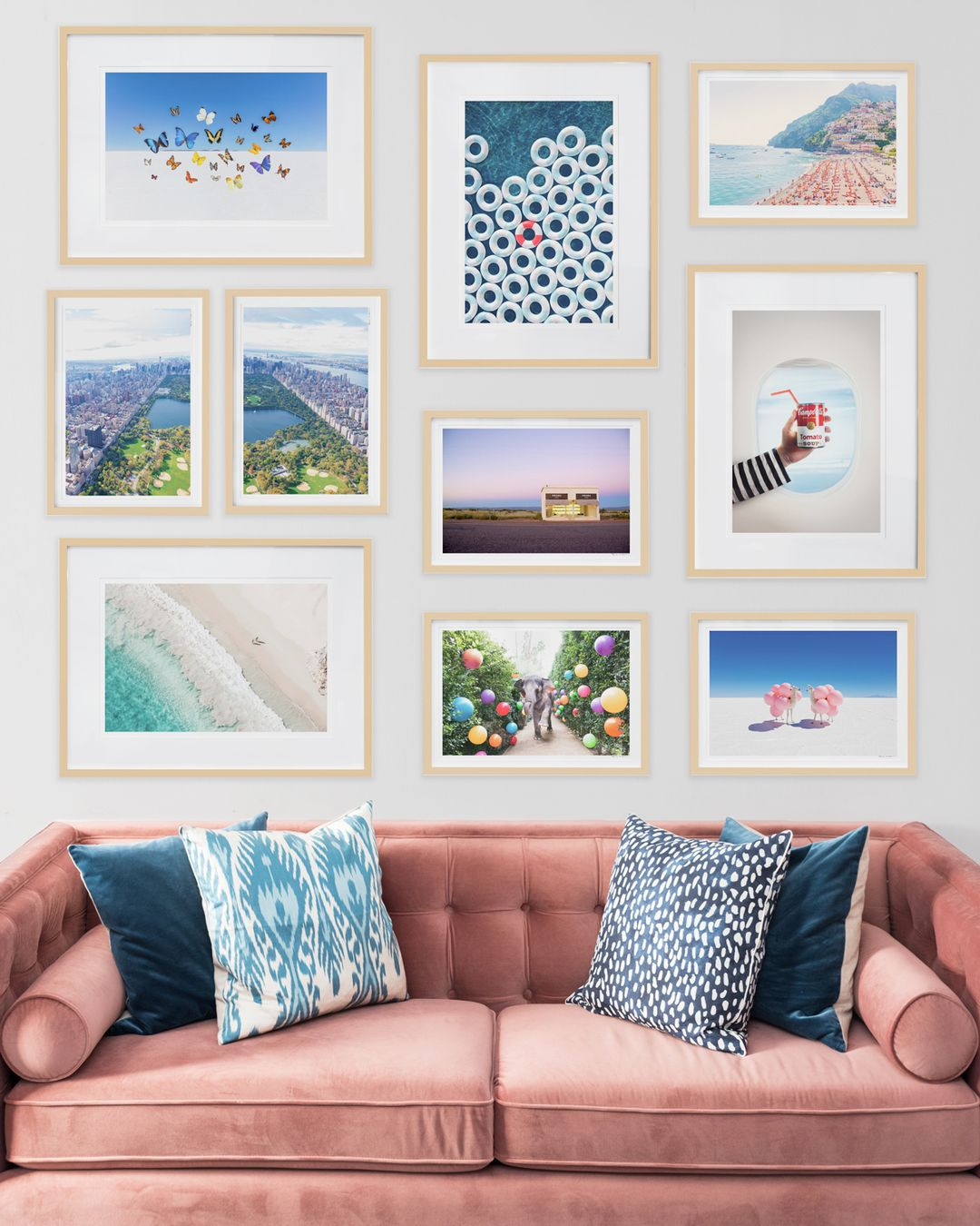 Gray Malin Gallery Wall - Free Framing Site Wide
