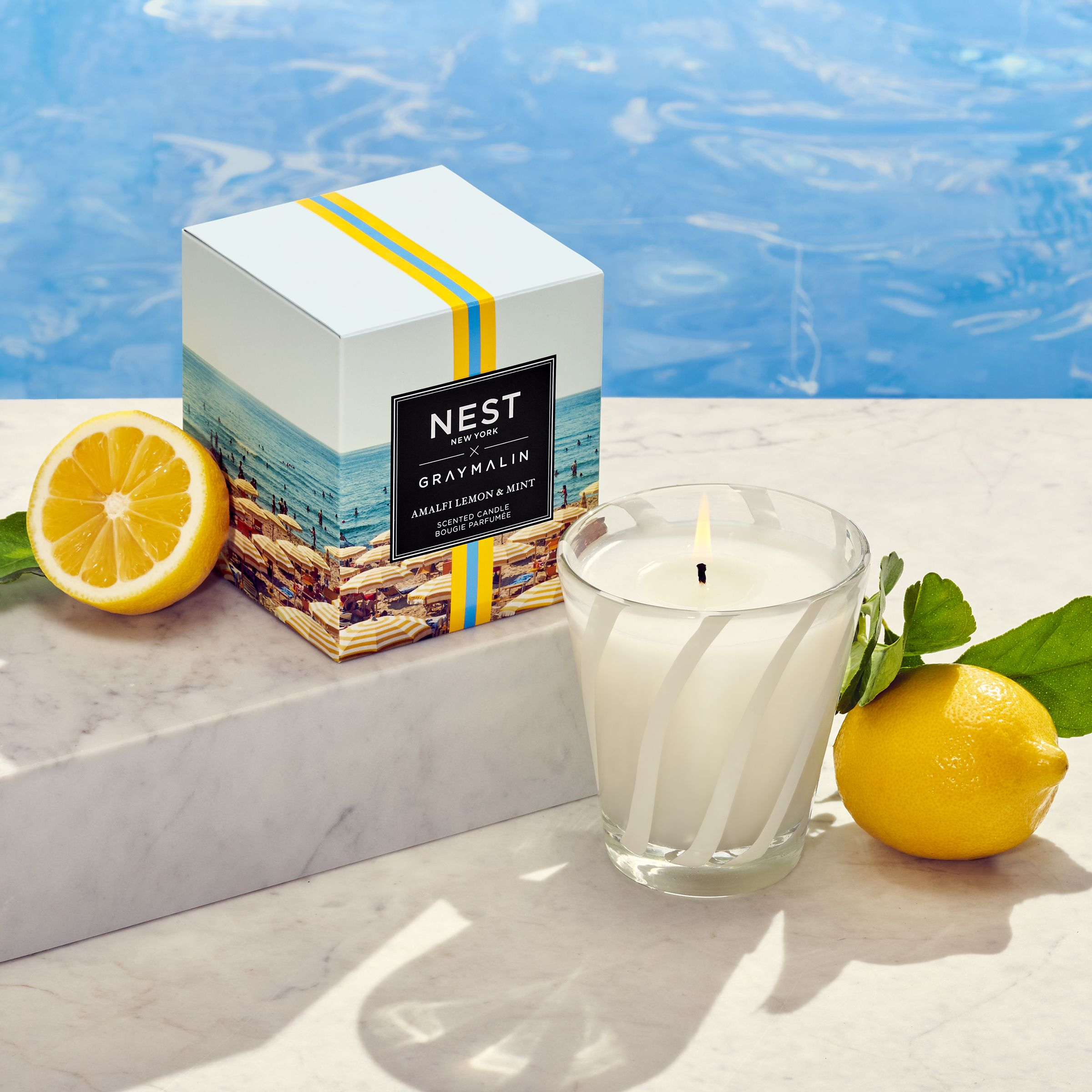 Amalfi Mint & Lemon Candle