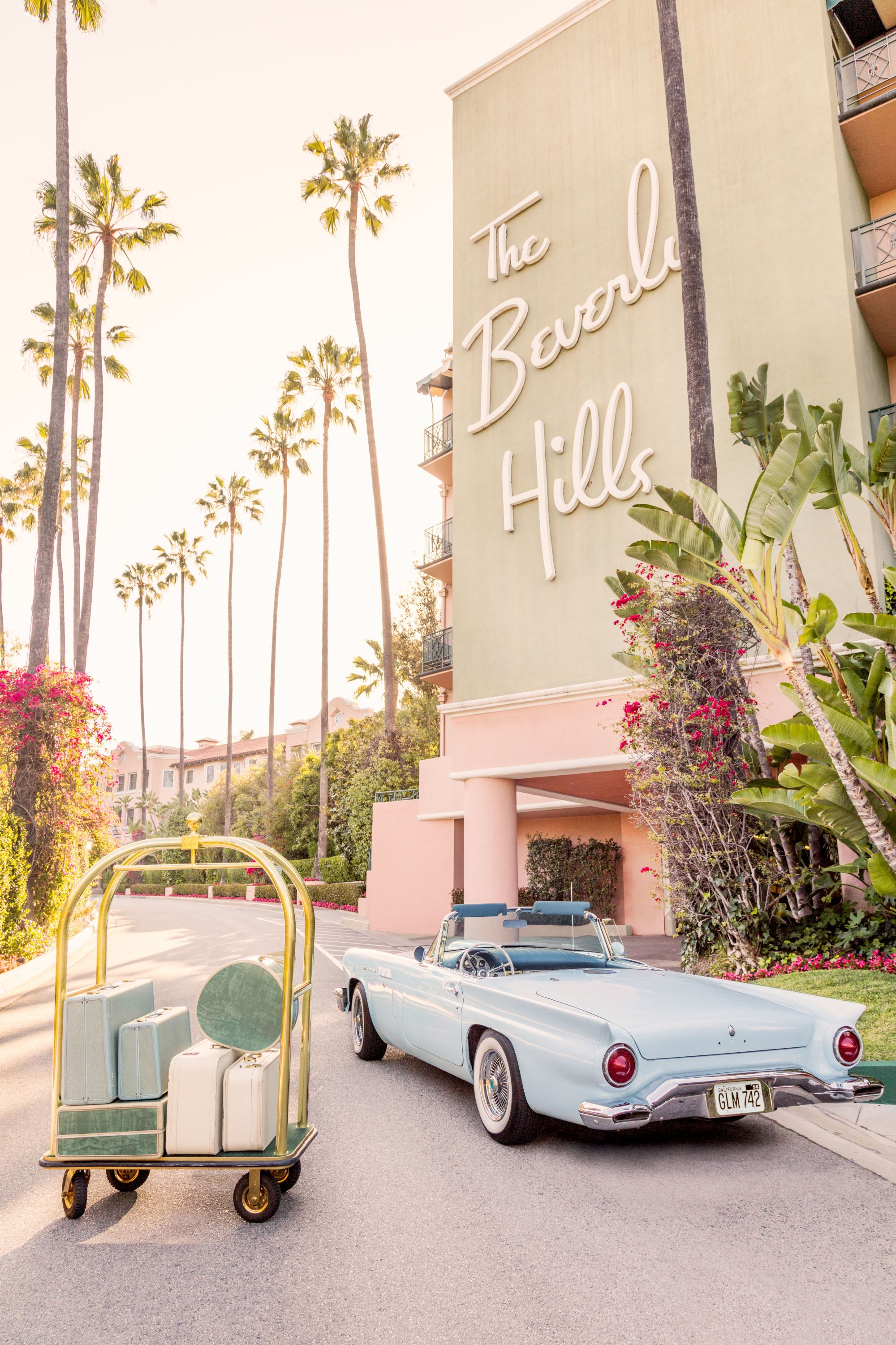 Gray Malin At The Beverly Hills Hotel