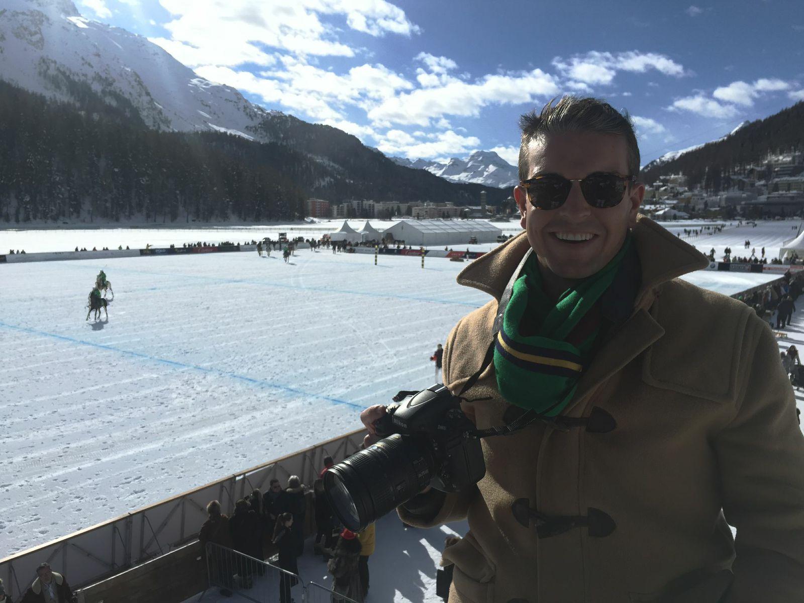 Gray Malin Snow Polo