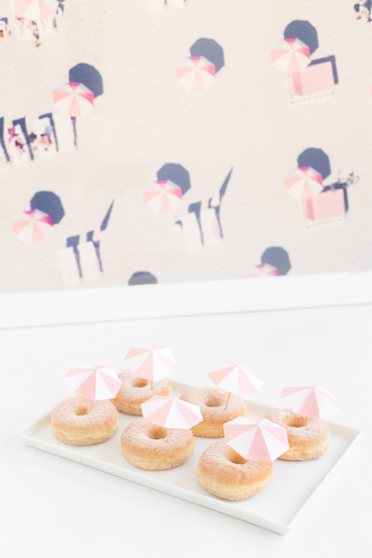 Studio DIY Gray Malin Inspired Donuts