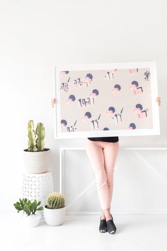 Studio DIY - Gray Malin - Miami Pink Umbrellas