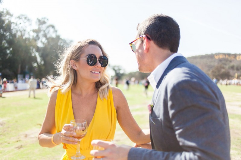 Gray Malin with Lauren Conrad Veuve Clicquot Polo Classic