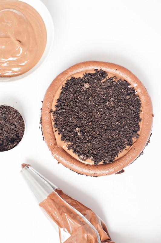 Sprinkles for Breakfast - Gray Malin Inspired Cake