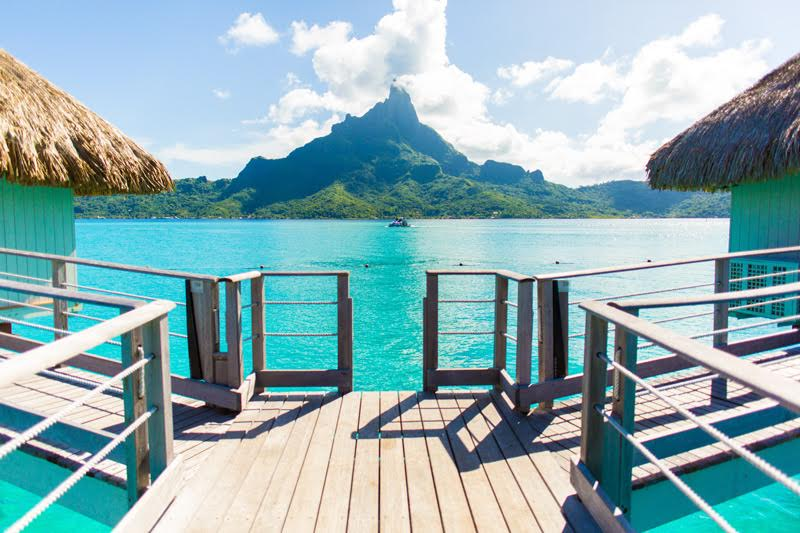Gray Malin Travel in Bora Bora