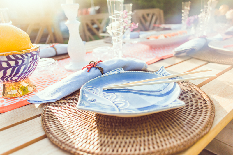 The perfect plates for your Backyard DinnerParty