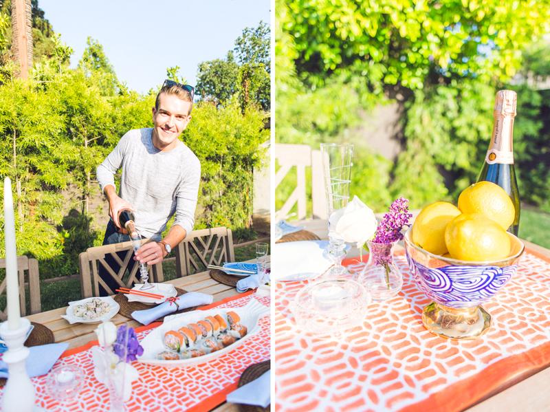 Gray's Backyard DinnerParty with Juliska