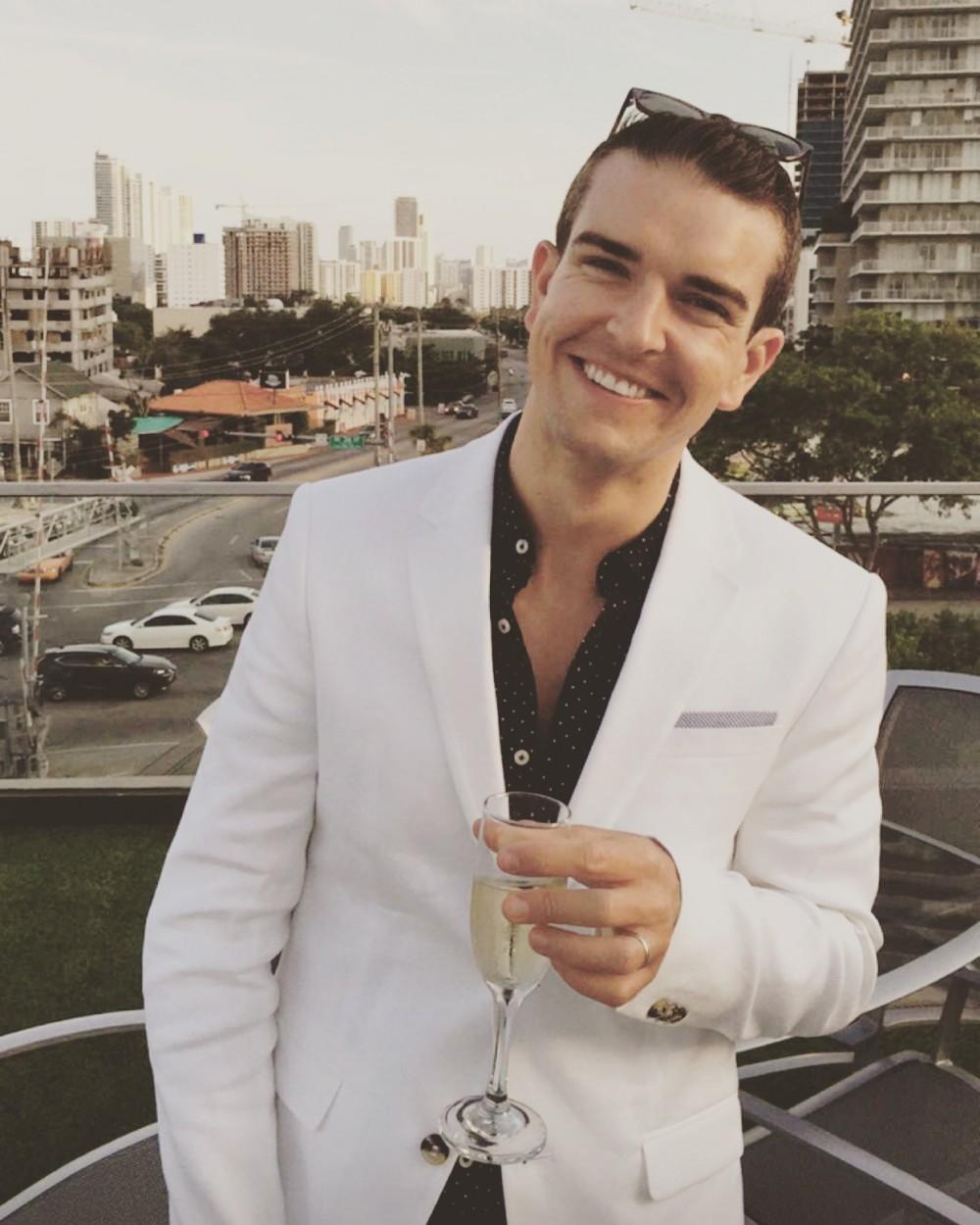 Gray Malin at Brown Jordan in Miami for Book Signing