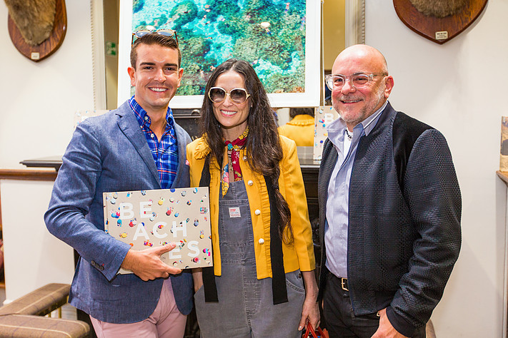 Gray with Demi Moore and Eric Buterbaugh