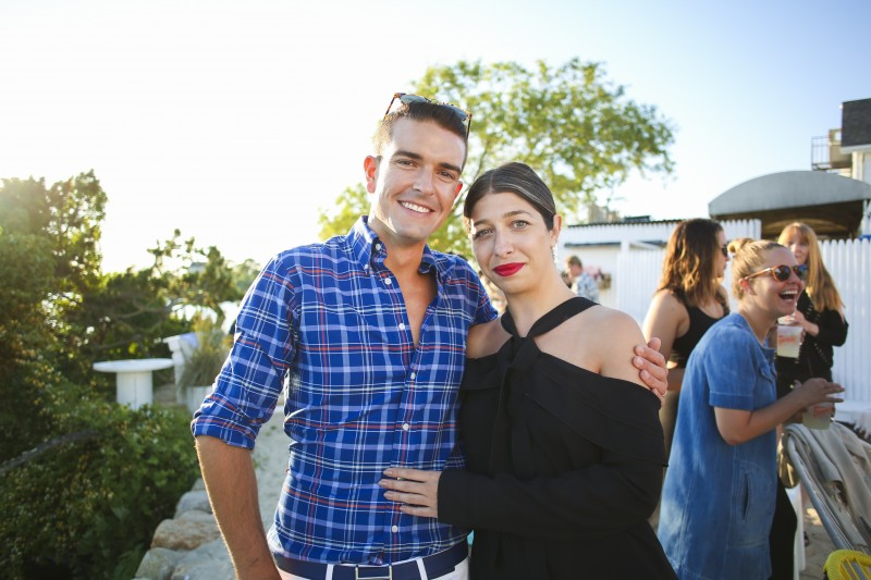 Gray with Stephanie Mark of The Coveteur