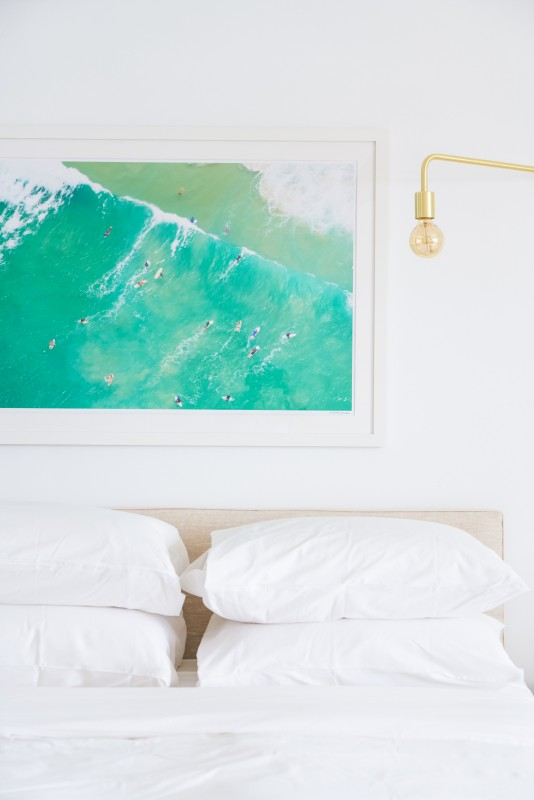 Gray Malin's artwork exclusively in Surf Lodge rooms