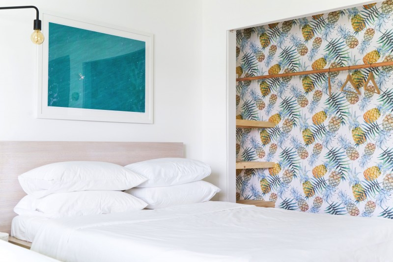 Gray Malin's artwork in Surf Lodge newly refreshed rooms