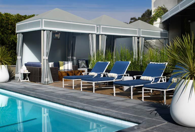 Delfina Pool, Santa Monica