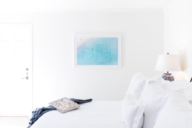 Gray Malin's Bora Bora Photography - Beach Bedroom Decor of Amy Havins