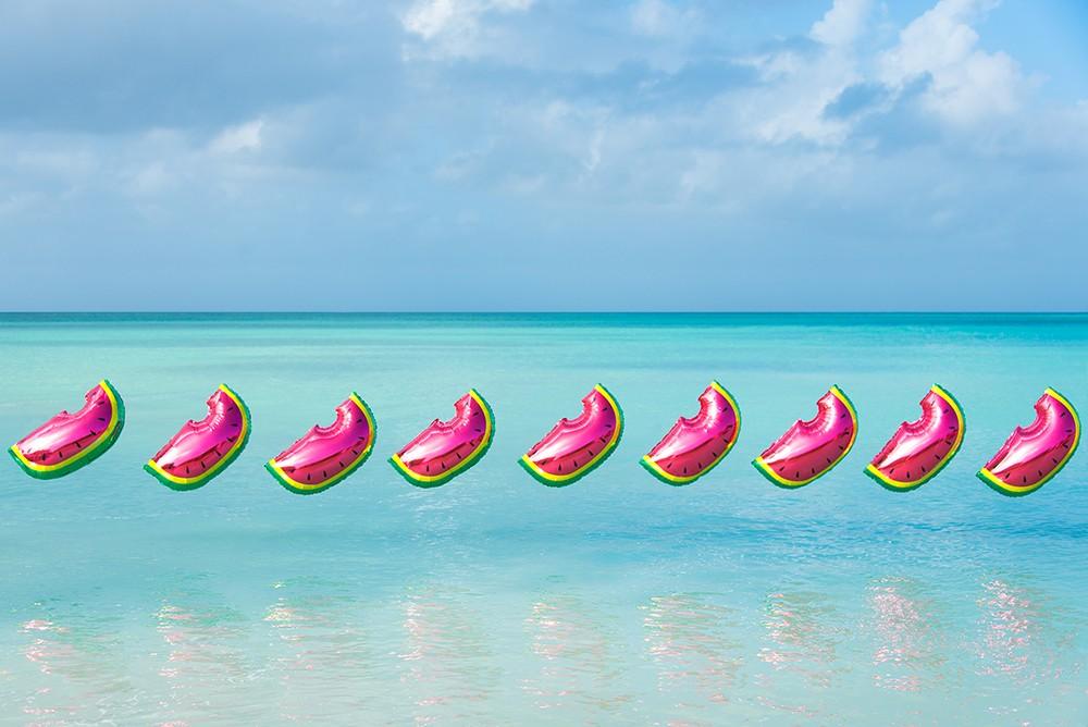 Gray's Summer Playlist & Watermelon Balloons