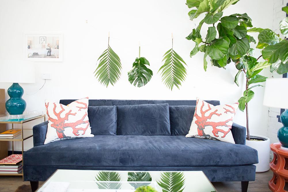 Palm Leaf Garland DIY