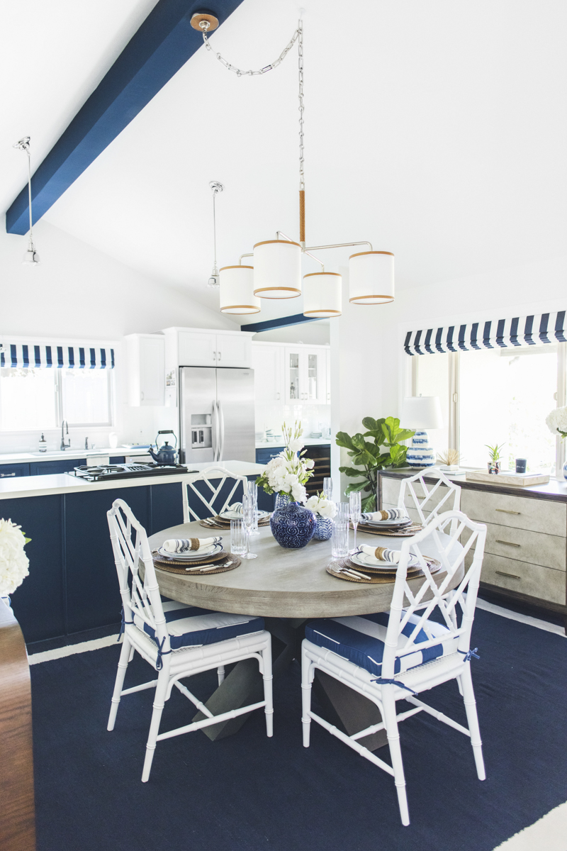 Gray Malin's Kitchen Redesign - AFTER Photo with William Sonoma furniture