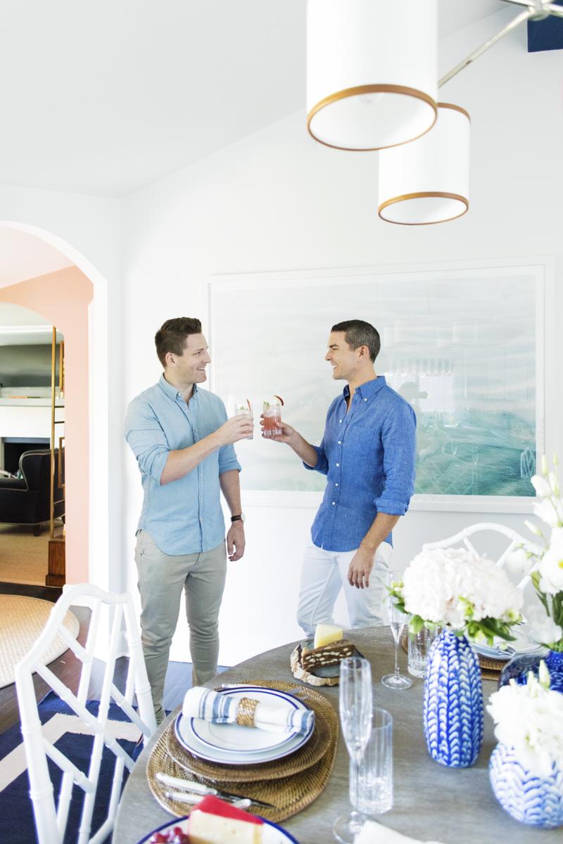 Gray Malin's Kitchen Redesign - Celebrating with Orlando Soria of Home Polish