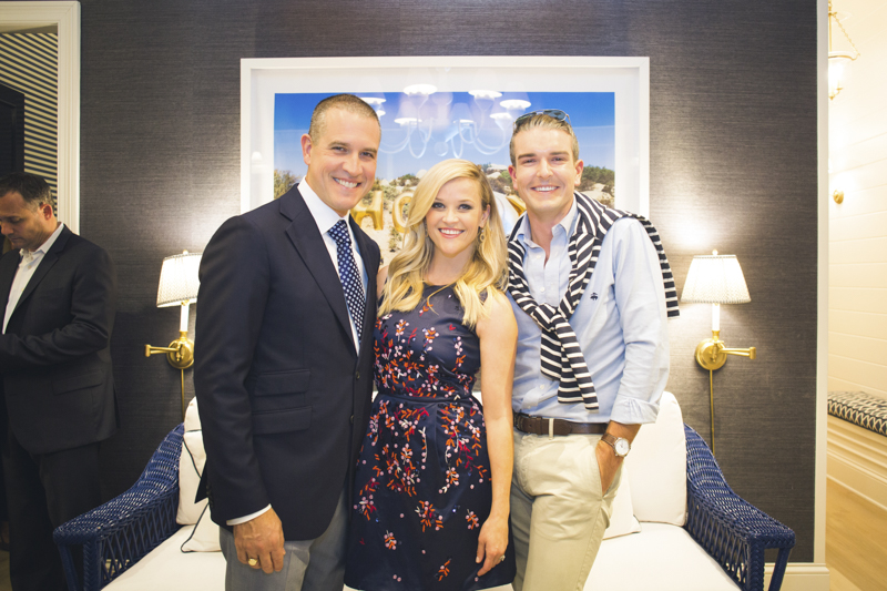 Reese Witherspoon, Jim Toth and Gray Malin