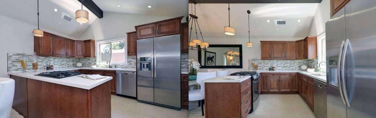 Gray Malin's original kitchen design