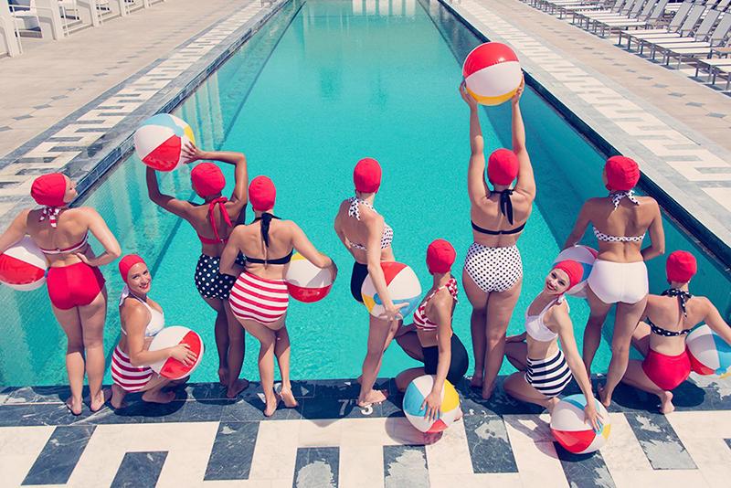 Summertime Swimmers print, Gray Malin
