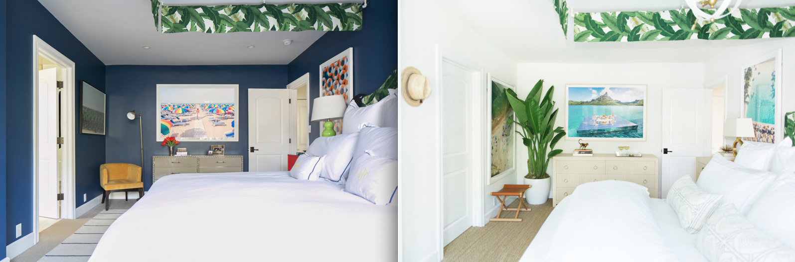 Gray Malin Bedroom Redesign - Before & After