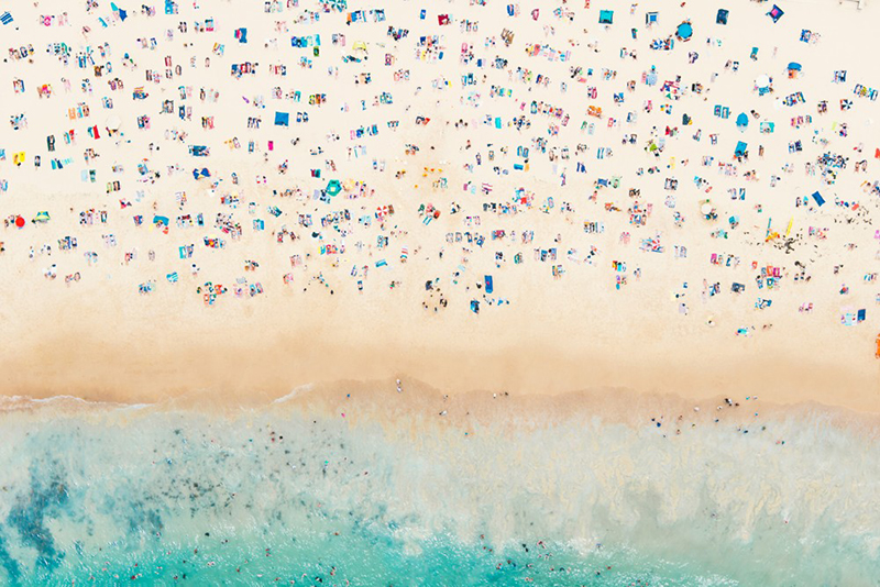 Sydney Beach print by Gray Malin