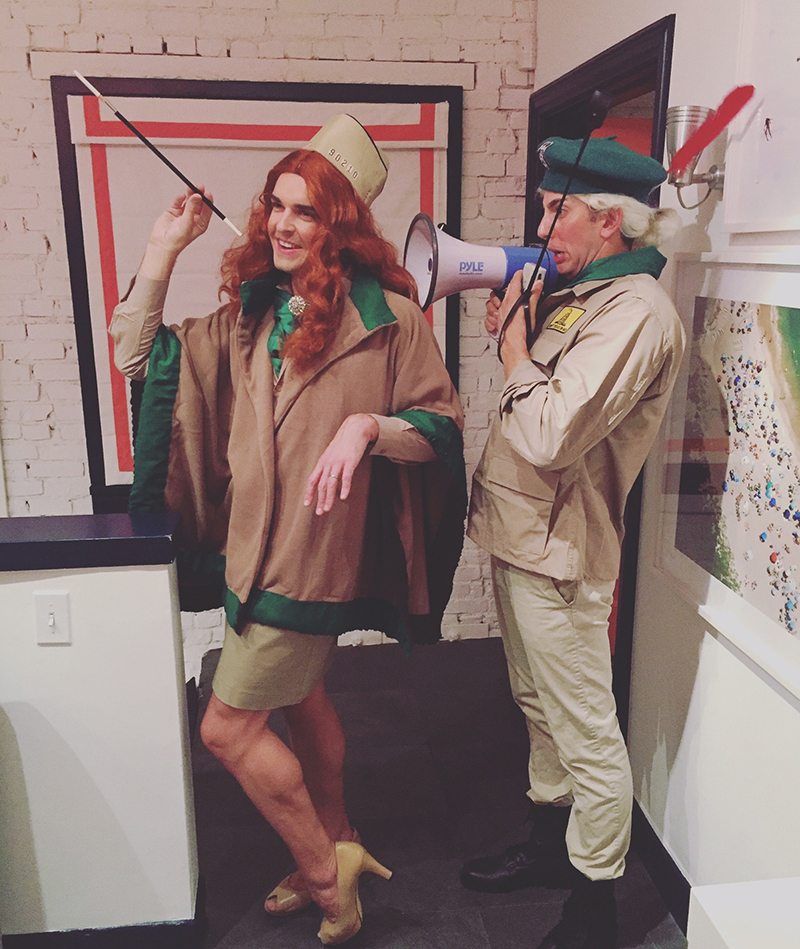 Costumes inspired by Gray's favorite movies - Troop Beverly Hills