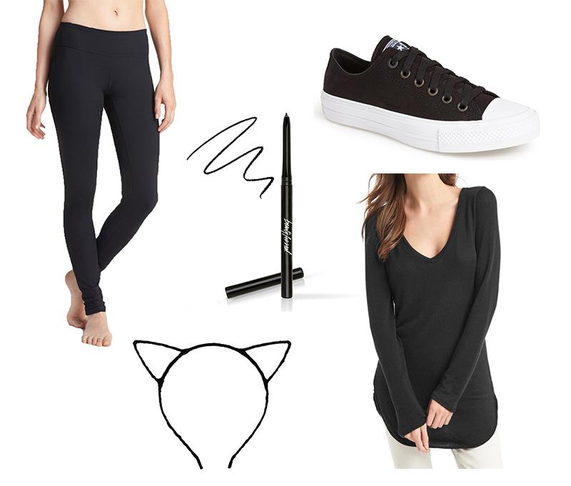 Last Minute Costumes on GrayMalin.com/lifestyle - Black Cat