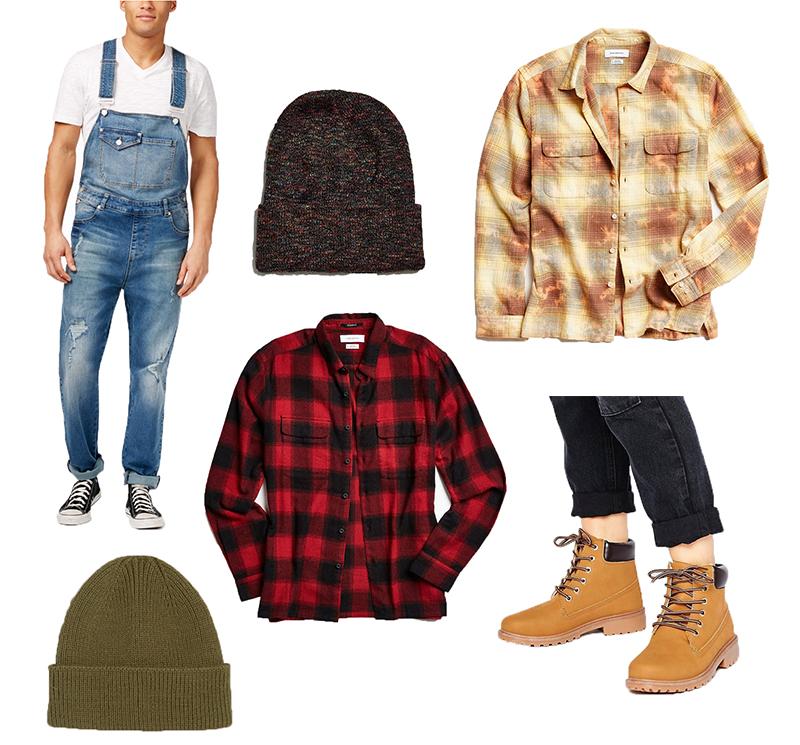 Last Minute Halloween Costume - Lumberjack