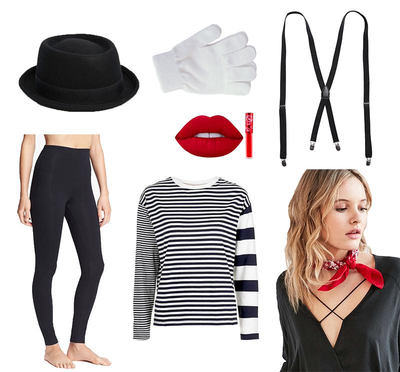 Gray Malin's Last Minute Costume - Mime