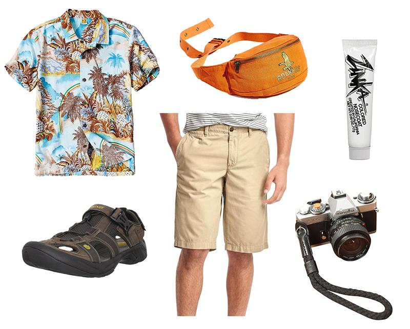 Gray Malin's Last Minute Costumes - Tourist