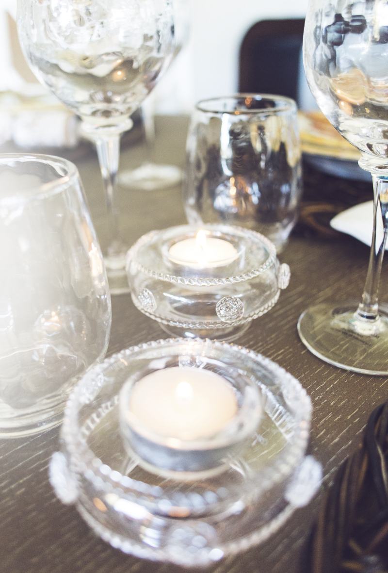 Thanksgiving Table Setting Tips - Pick the right glassware