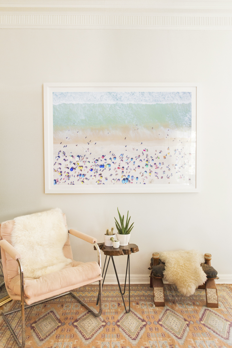 Home of Interior Designer Amber Lancaster - Styled with Gray Malin Copacabana Beach