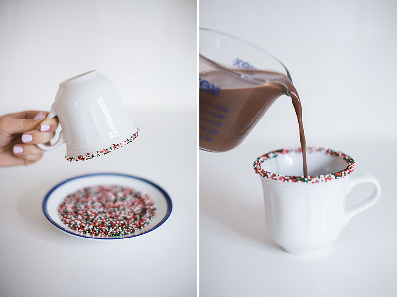 How to make Gray Malin's Beach Spinkles Spiked Hot Chocolate