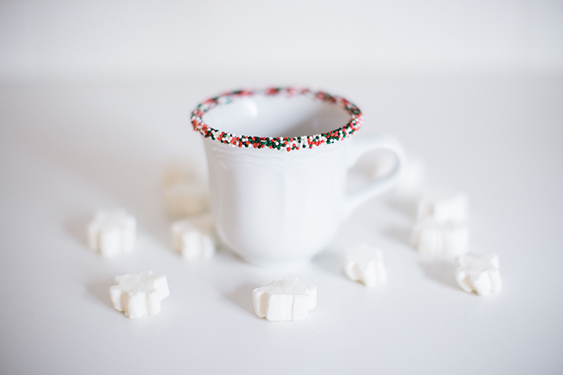 Gray Malin's Sprinkled & Spiked Hot Chocolate