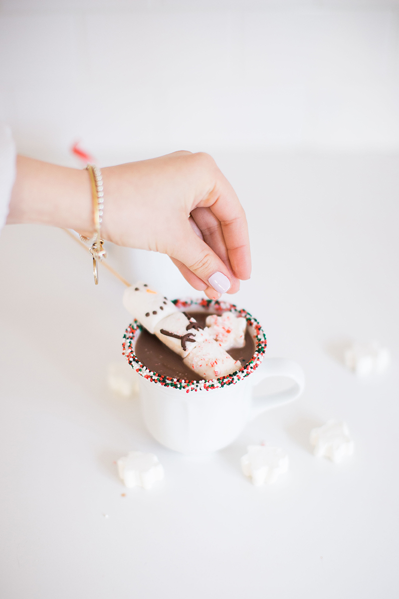 Gray Malin's Sprinkled & Spiked hot chocolate recipe