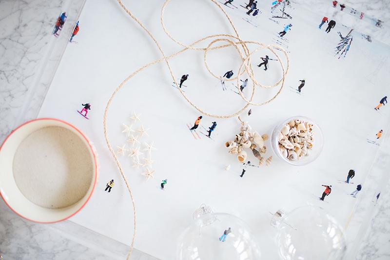 how to make beach ornaments for Christmas | GrayMalin.com/Lifestyle