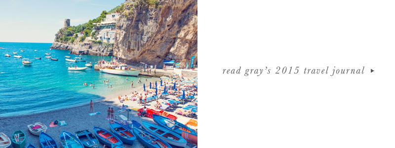 Gray Malin Italy Journals - Archives