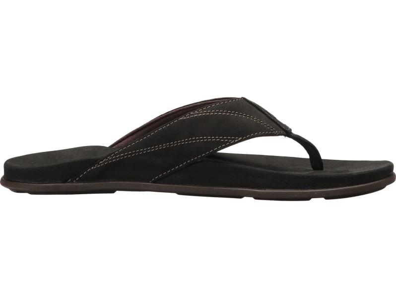 db9e51de67e7 Olukai Pikoi Flip Flops - Men s Black Black Size 11