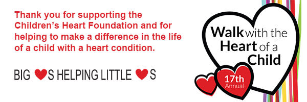 Children's Heart Foundation - Walk with the Heart of a Child