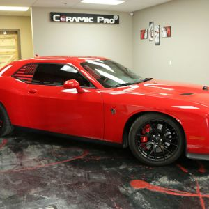 Dodge Challenger Hellcat 2015 Red