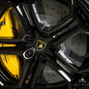 Lamborghini Aventador Black 2012
