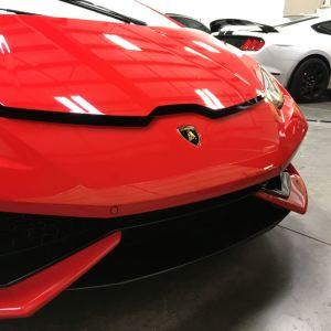 Lamborghini Huracan Red 2017