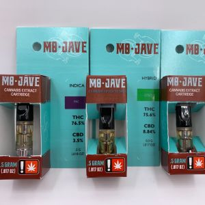 Mo-Jave Half Gram Cartridges