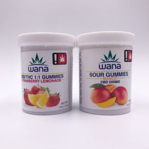Wana CBD Gummies – 1:1 Strawberry Lemonade